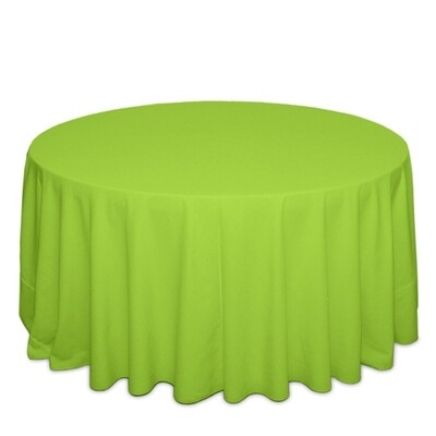 Lime Green Tablecloth Rentals - Polyester