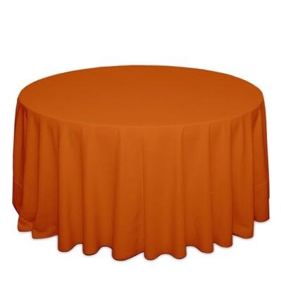 Orange Tablecloth Rentals - Polyester