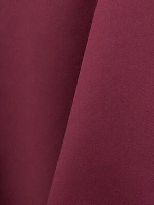 Burgundy Lamour Matte Satin Table Cloth Rentals