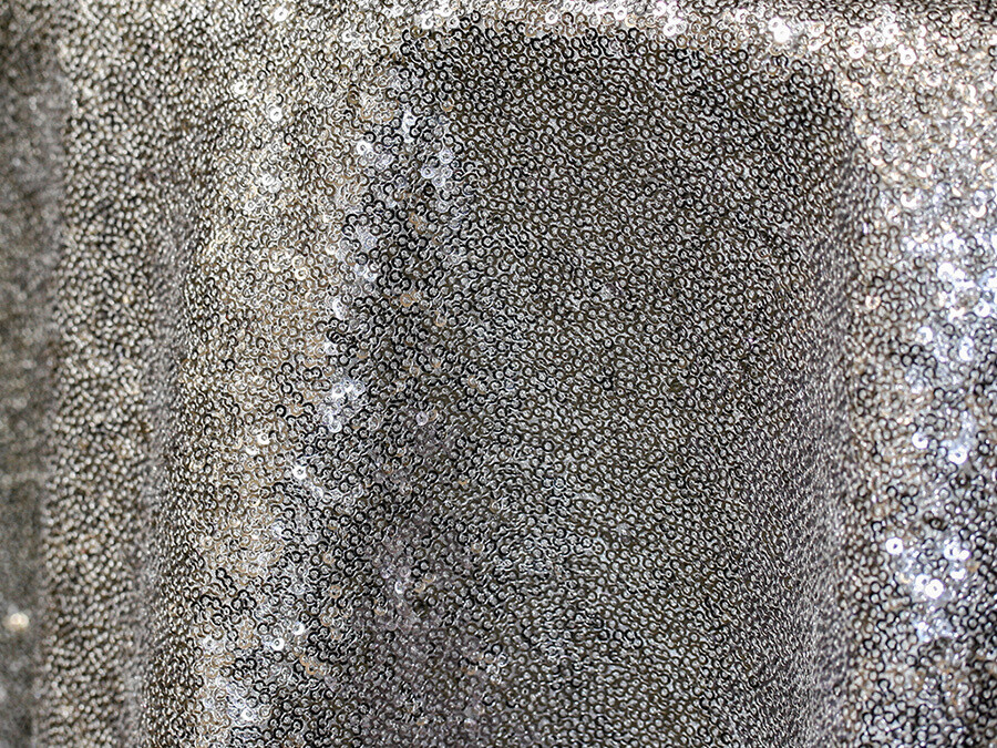 Silver Sequin Tablecloth Rentals - Mesh
