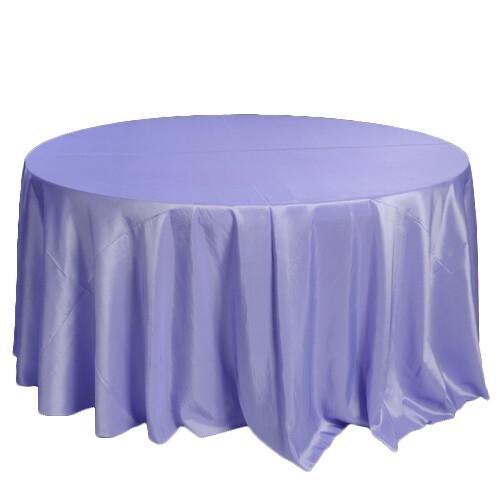 Lavender Taffeta Tablecloths Rentals