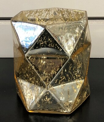 Gold Hexagon Votive