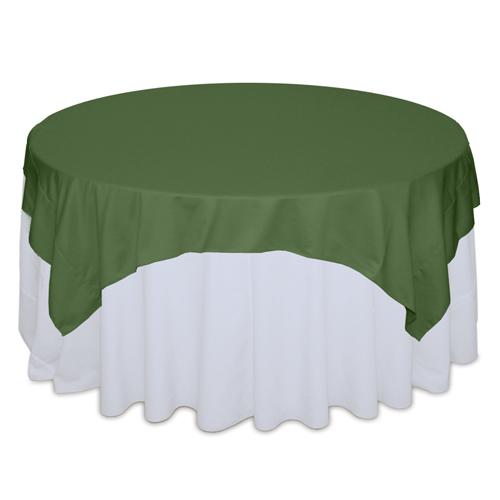 Clover Matte Satin Table Overlay Rental