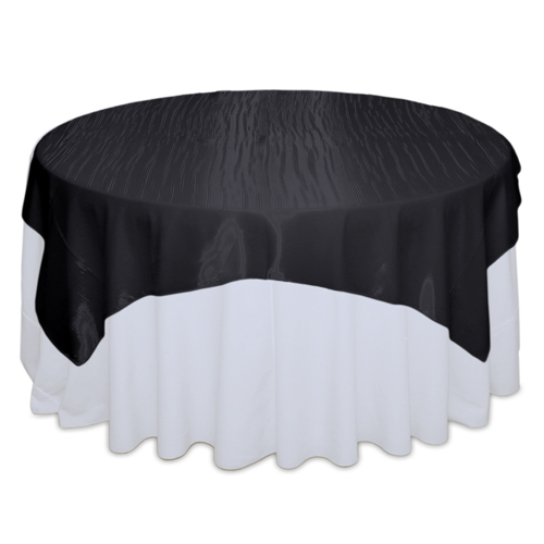 Black Mirror Table Overlay Rental
