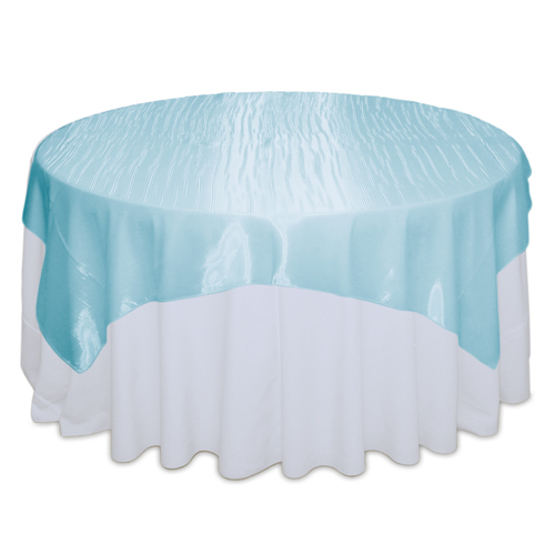 Tiffany Blue Mirror Table Overlay Rental