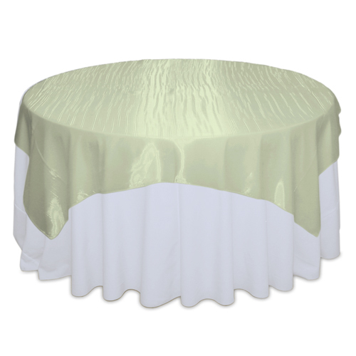 Celery Mirror Table Overlay Rental