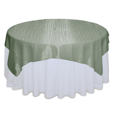 Sage Mirror Table Overlay Rental