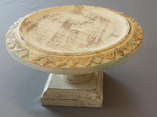 Wood Chic Wedding Cake Stand - 10 1/2