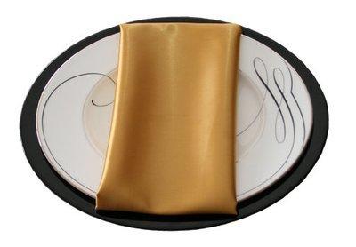 Gold Satin Napkin