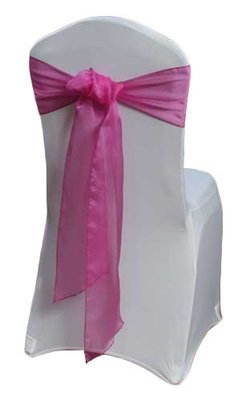 Azalea Organza Sheer Chair Sashes