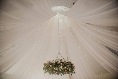 Starburst Ceiling Draping
