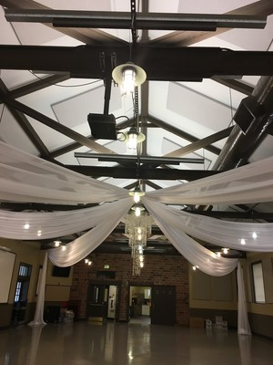 Star Shape Ceiling Draping