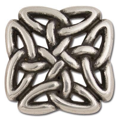 Celtic Filagree Square Concho