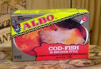 Albo Bacalao a La Vizcaina [BULK] 28 Cans (Free Shipping this Item)