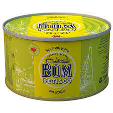 Bom Petisco Tuna in Olive Oil (385gr)