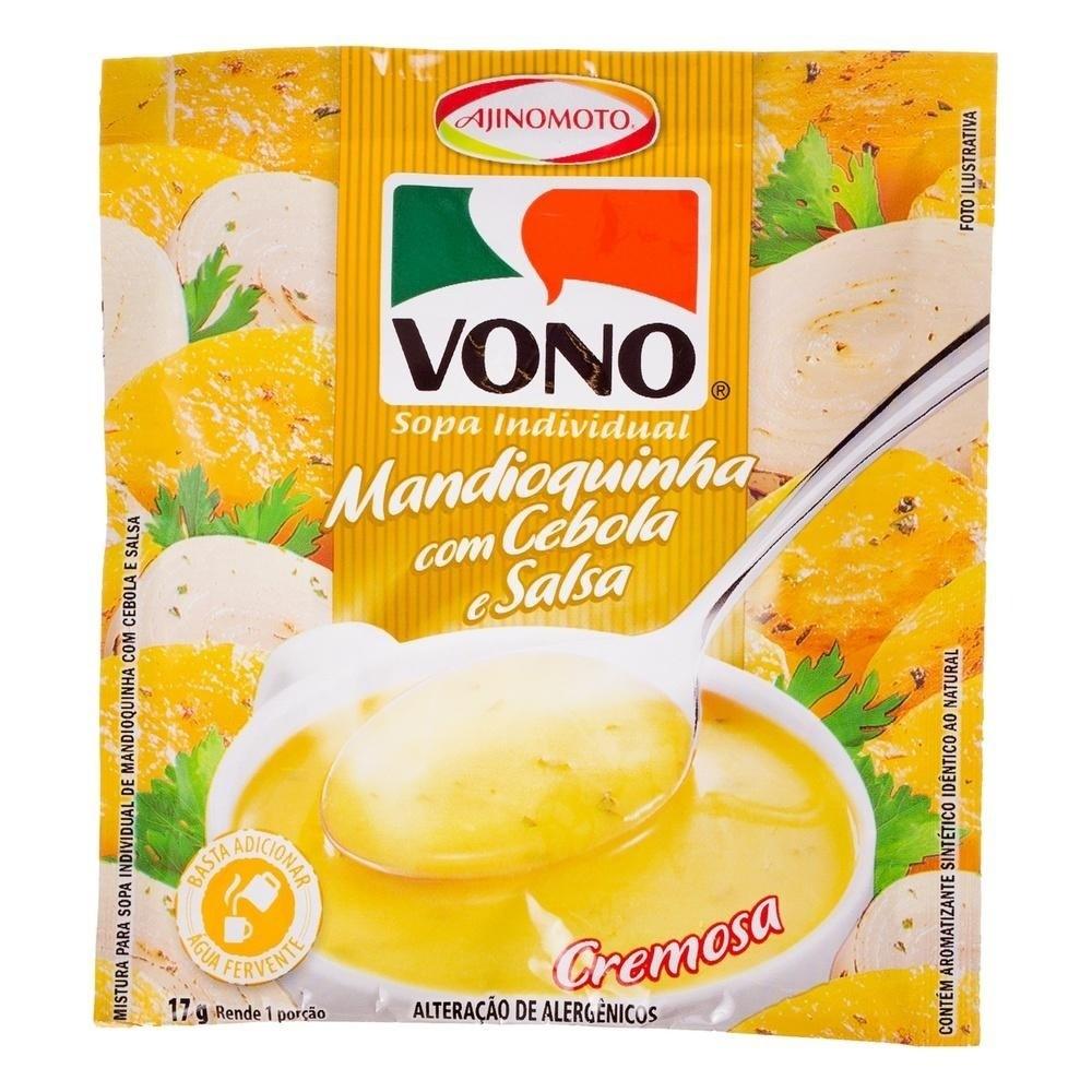 Manioc Onion Parsley Soup (Instant Soup) by Vono 17gr