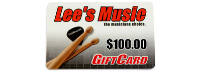 Lee's Music Gift Card - $100