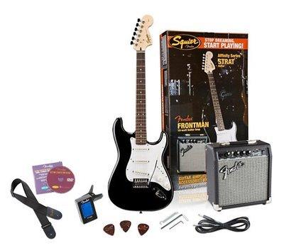 Fender Squier Electric Guitar Package 10 watt
