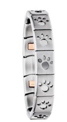 Bracelet: Flexi - With Pawprint Design