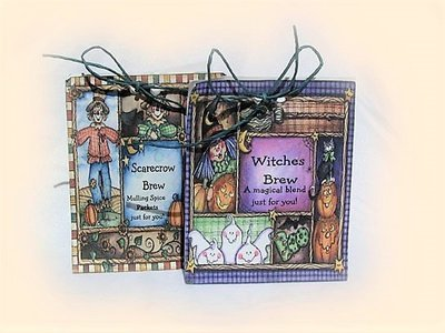 Halloween Sammy Scare Crow 4 bags Pack
