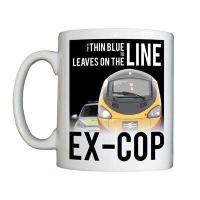 Personalised 'Cop - Railway' Drinking Vessel