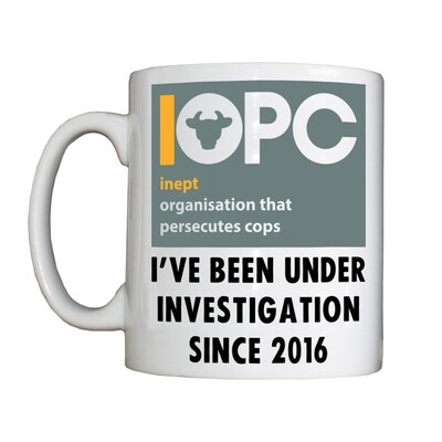 Personalised 'IOPC' Drinking Vessel
