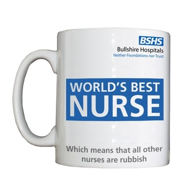Personalised 'World's Best Nurse' Drinking Vessel