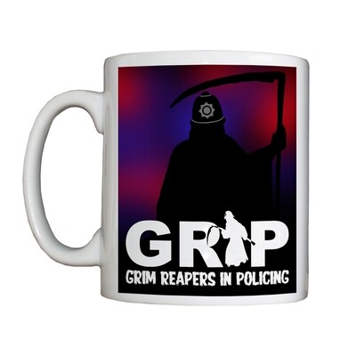 Personalised 'Grim Reapers in Policing' Drinking Vessel