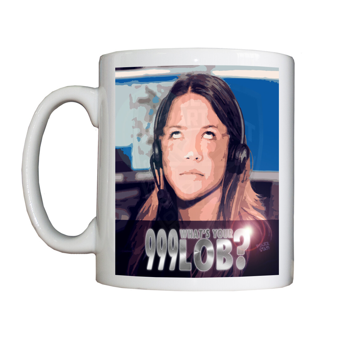 Personalised '999 What's Your LOB' Drinking Vessel