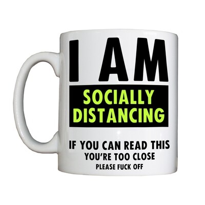 Personalised 'Socially Distancing' Drinking Vessel