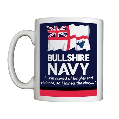 'Bullshire Navy' Drinking Vessel