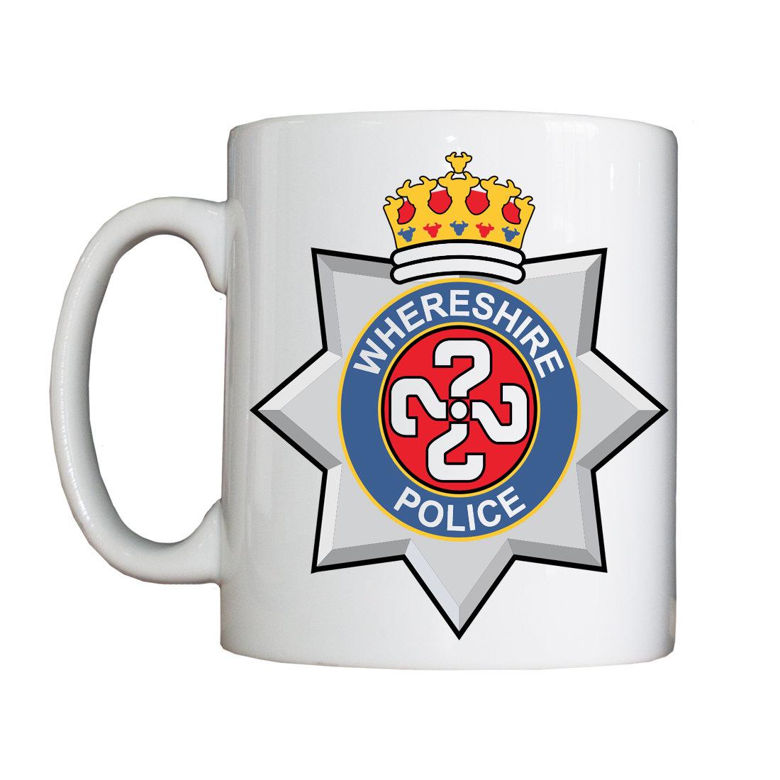 Personalised 'Whereshire' Mug