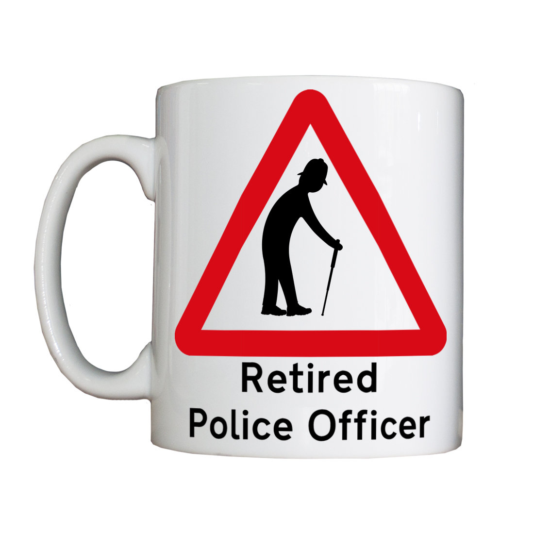 New Personalised 'Retired Police Officer' Mug