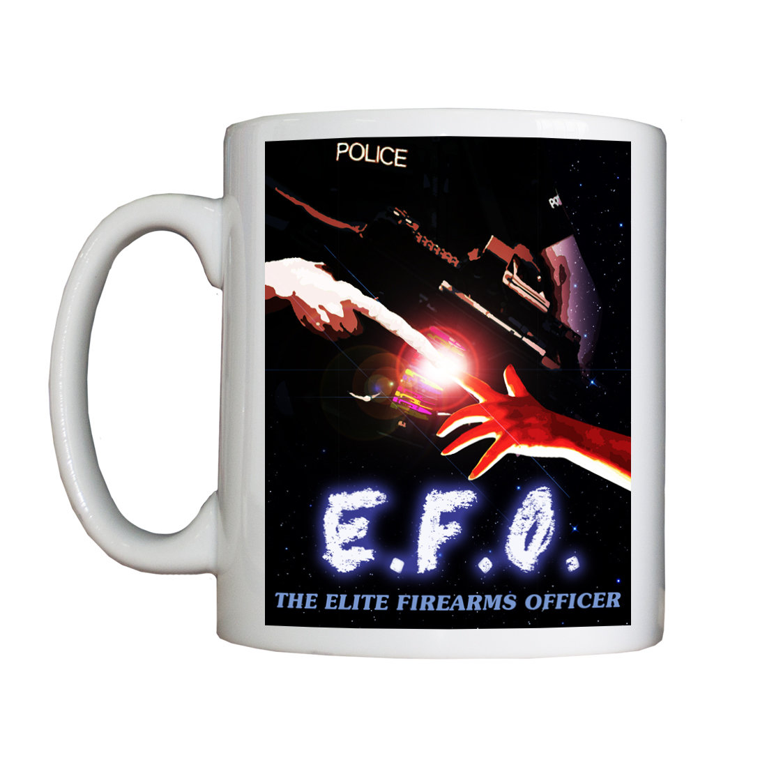 Personalised 'EFO:  The Elite Firearms Officer' Drinking Vessel