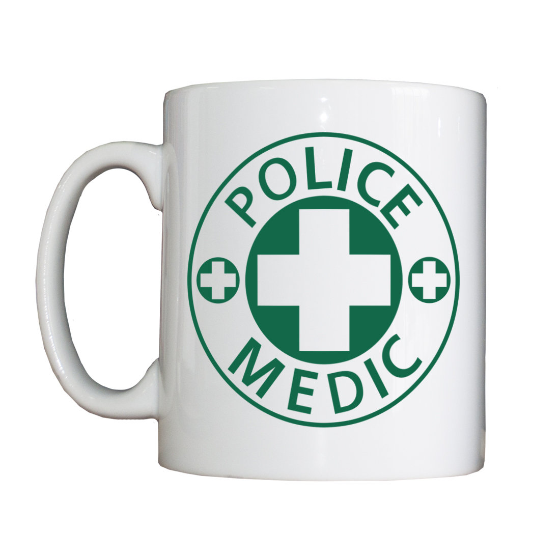 Personalised 'Police Medic' Drinking Vessel