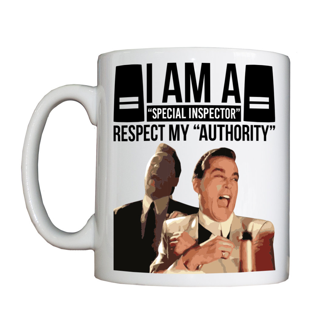Personalised 'I am a Special Inspector' Drinking Vessel