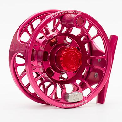 Alfa 3+ Pink and 3pcs Spare spools