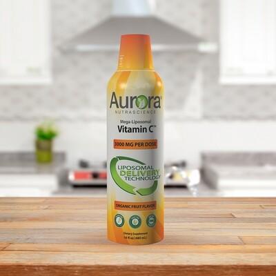 Mega-Liposomal Vitamin C (16 OZ/ 480ml) 3000mg Per Serving