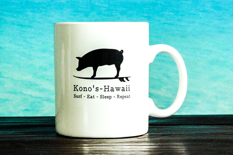 KONO'S LARGE COFFEE MUG