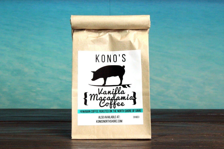 KONO'S VANILLA MACADAMIA COFFEE
