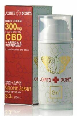 Joints + Bones Cream 300mg Full Spectrum CBD 3.3oz