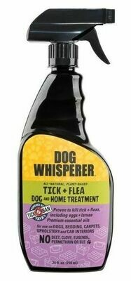 Yaya Dog Whisperer TICK + FLEA Dog and Home Treatment Spray 24 oz