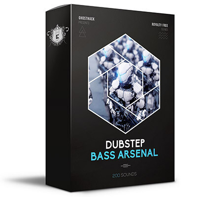 Dubstep Bass Arsenal - Royalty Free Samples