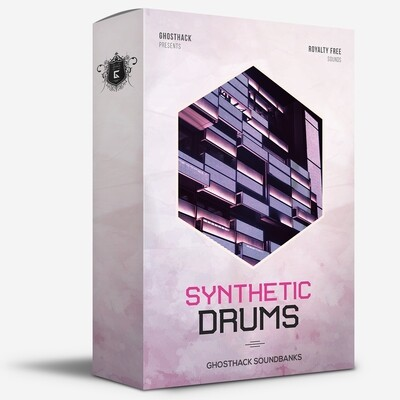 Synthetic Drums - Royalty Free Samples