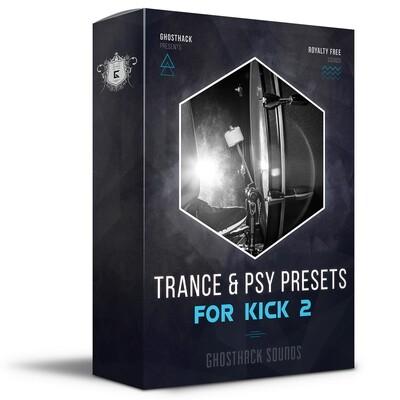 Trance & Psy Presets for Kick 2 - Royalty Free Samples