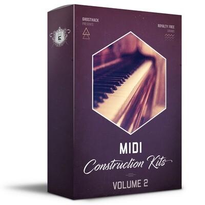 MIDI Construction Kits Volume 2 - Royalty Free Samples