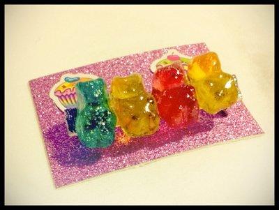 Mini Gummy Bear Brooch