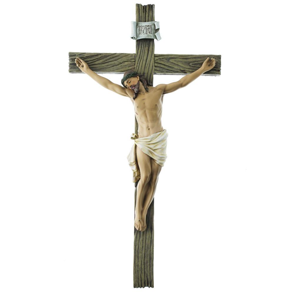 """Renaissance Collection Crucifix 13.75"""""""