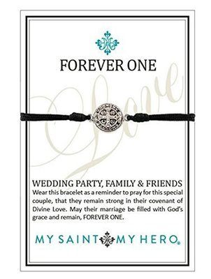 Forever One Bracelets: Wedding Party, Family & Friends (My Saint My Hero)