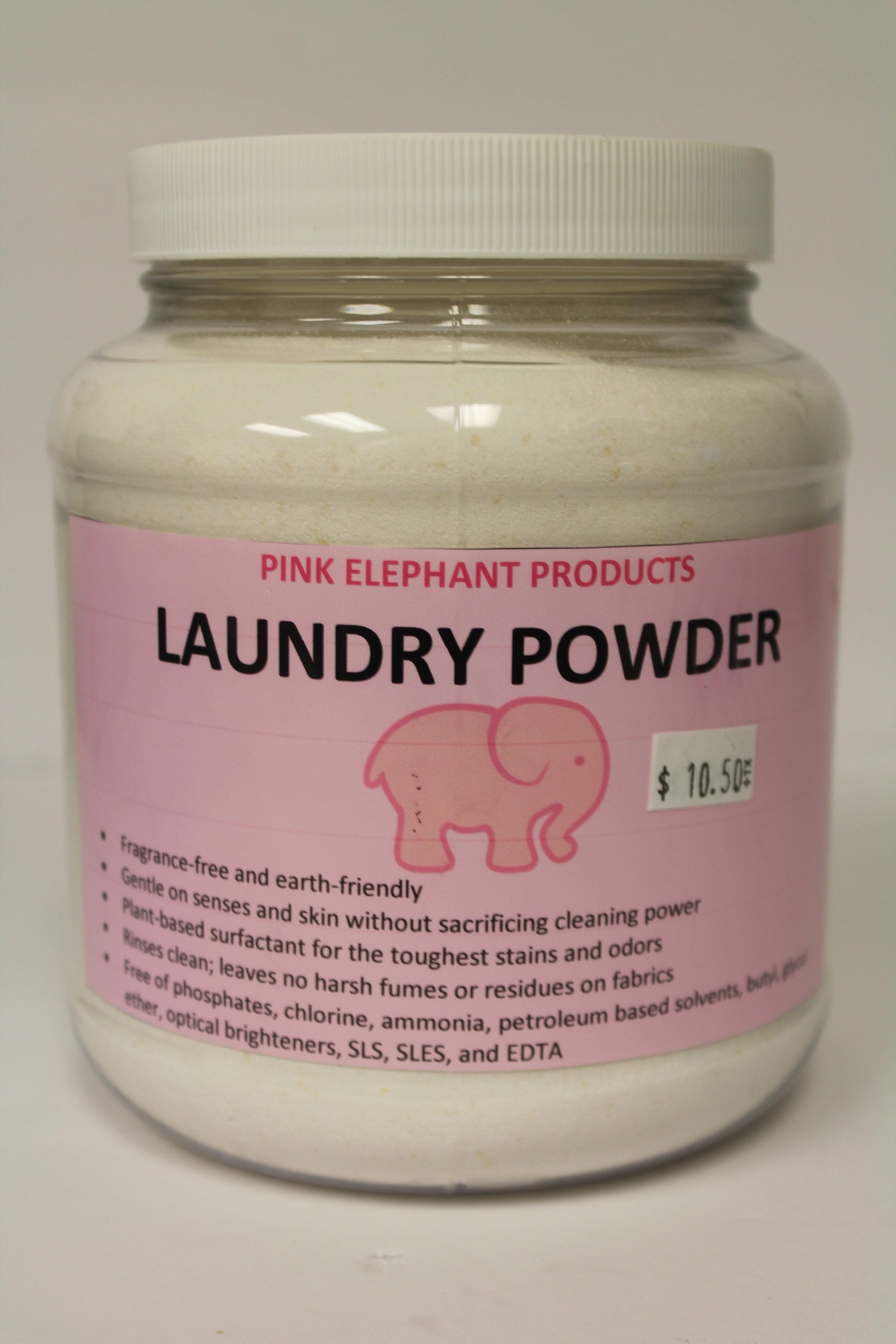 Pink Elephant Laundry 00196